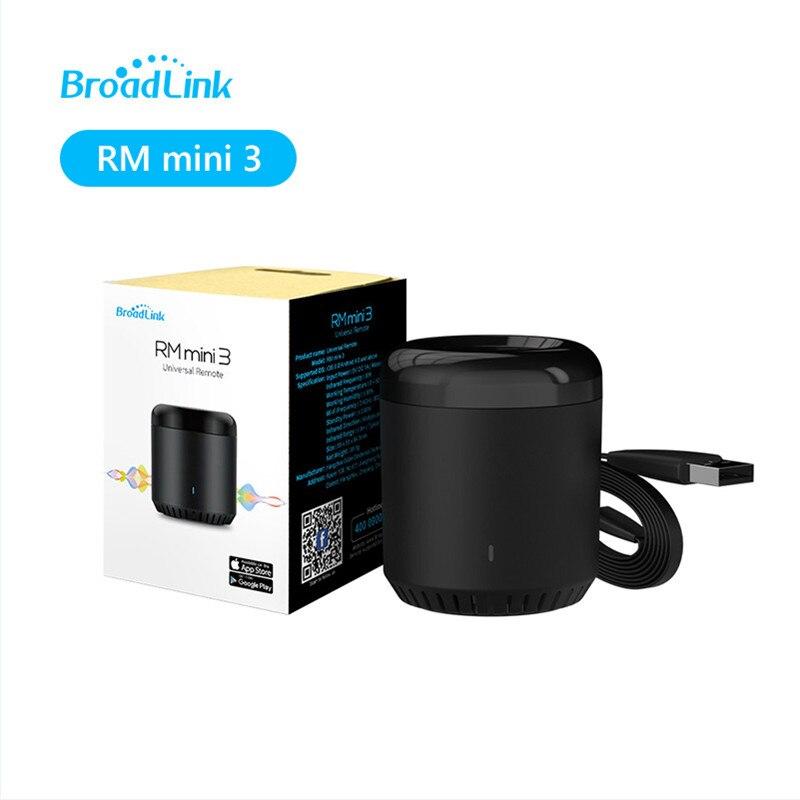 Оригинальный BroadLink RM Mini 3 ИК-концентратор Alexa Echo Google
