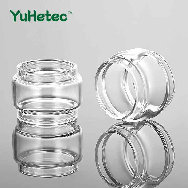 2PCS YUHETEC Replacement Glass TUBE for Vandy Vape Kylin M RTA Tank Adjustable 3ml /4.5ml Capacity Electronic Cigarette Atomizer