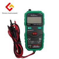 EM33A Mini Digital Multimeter DC AC Voltage Tester Smart Meter With Resistance Test