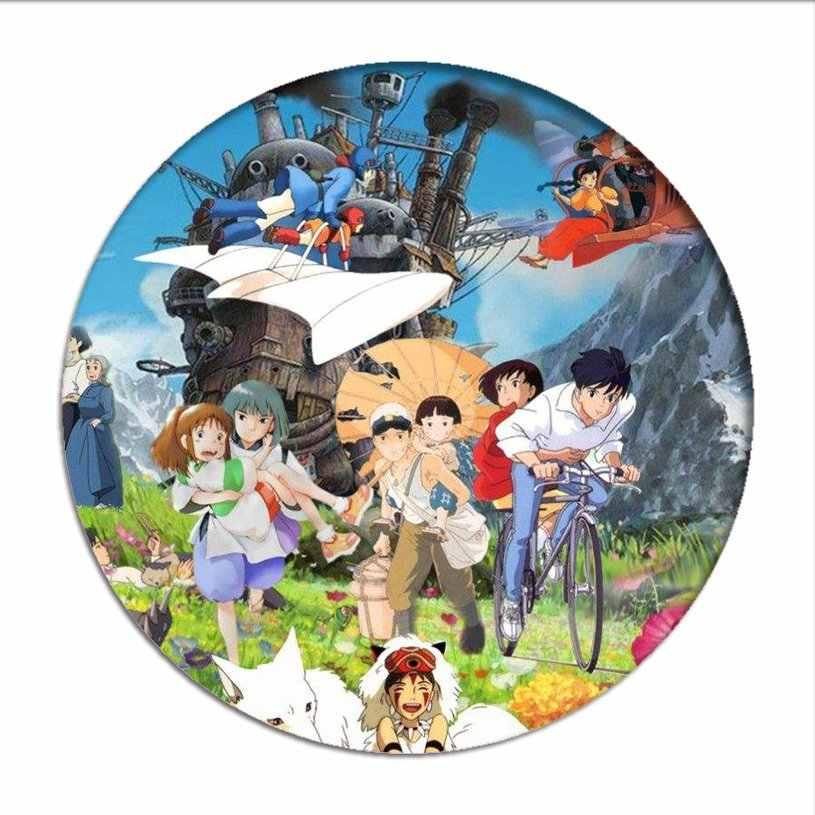 Miyazaki Hayao Kaonashi  pin zinc alloy brooch cosplay Enamel badge Chest pin