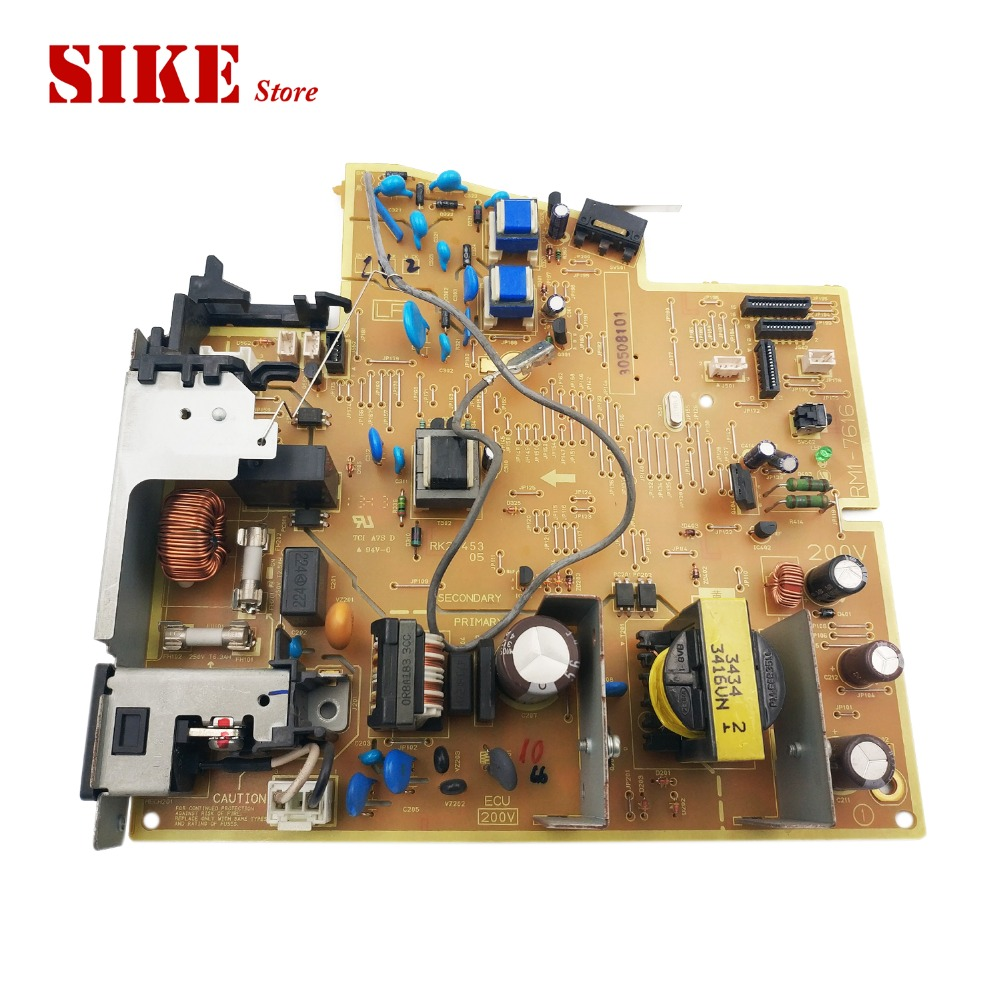 LaserJet Engine Control Power Board For HP P1566 P1606 P1606N RM1-7615 RM1-7616 1566 1606 HP1566 Voltage Power Supply Board laserjet printer engine control power board for hp 1160 1320 1320n rm1 1243 rm1 1242 hp1160 hp1320 voltage power supply board