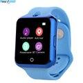 TimeOwner V88 Bluetooth Relógio Inteligente Android Monitor de Freqüência Cardíaca Lembrete Anti-perdida Smartwatch SIM para iOS Dispositivos Wearable
