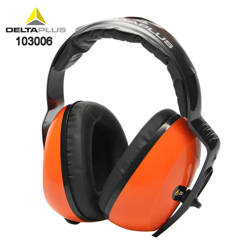 DELTAPLUS 103006 Noise-proof earmuffs Noise SNR 29 Original Safety earmuffs Comfortable shooting Learn Professional earmuffsDELTAPLUS 103006 Noise-proof earmuffs Noise SNR 29 Original Safety earmuffs Comfortable shooting Learn Professional earmuffs