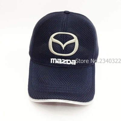 mazda mx 5 baseball cap wholesale summer race leisure hat car mesh colour headgear miata 3