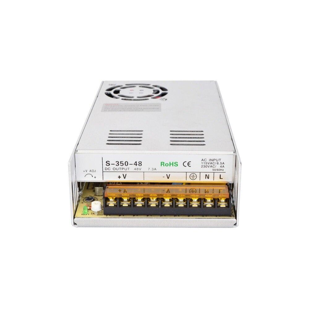 DC48V 350W 7.3A Schaltnetzteil 115 V/230 V für Stepper Motor/CNC Router/DIY 3D drucker