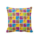 Cushion Of Dog Retro Boxer High Quality Square Pillow Cushion Case Cover Twin Sides Zippered