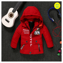 Children's clothing male winter cotton-padded jacket down cotton wadded jacket thickening boys girls thicken Hooded coat 2-5T