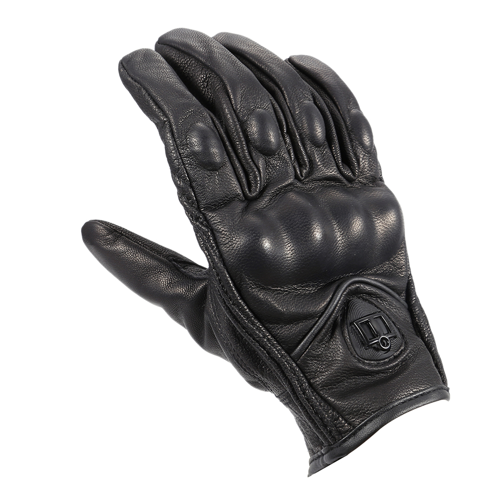 Cycling Motorbike <font><b>Gloves</b></font> Protective Gears Not Perforated Leather Motorcycle <font><b>Gloves</b></font> Motocross <font><b>Glove</b></font> Winter Man Female <font><b>Gloves</b></font>