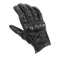 Cycling Motorbike Gloves Protective Gears Not Perforated Leather Motorcycle Gloves Motocross Glove Winter Man Female Gloves