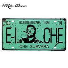 [Mike86] CHE Guevara 1928 signo de estaño regalo Vintage placa de pared decoración para el hogar D-555 Orden de mezcla 30*15 CM(China)