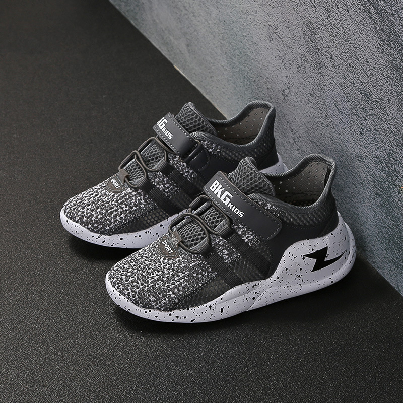 2019 Summer New Breathable Mesh Face Boy Net Shoes Children's Big Children's Shoes Casual Sports Shoes