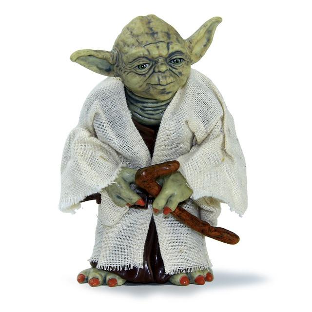 Star Wars 12 cm Maestro Jedi Yoda Yoda PVC Figura de Acción de Juguete Modelo de Simulación Juguete de Regalo Collector