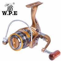 W.P.E TH-X 金属ロングキャストスプールスピニングリールリール 2000 3000 4000 5000 左/右釣りリール糸車のため低音パイク