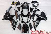 Motorcycle fairing kit For 2011 2016 Suzuki GSXR 600 750 Full Complete cover ABS Injection molding Fairing Body Work Frame