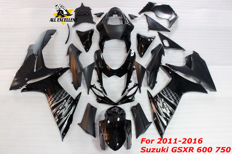 Motorcycle <font><b>fairing</b></font> <font><b>kit</b></font> For 2011-2016 <font><b>Suzuki</b></font> <font><b>GSXR</b></font> <font><b>600</b></font> 750 Full Complete cover ABS Injection molding <font><b>Fairing</b></font> Body Work Frame image