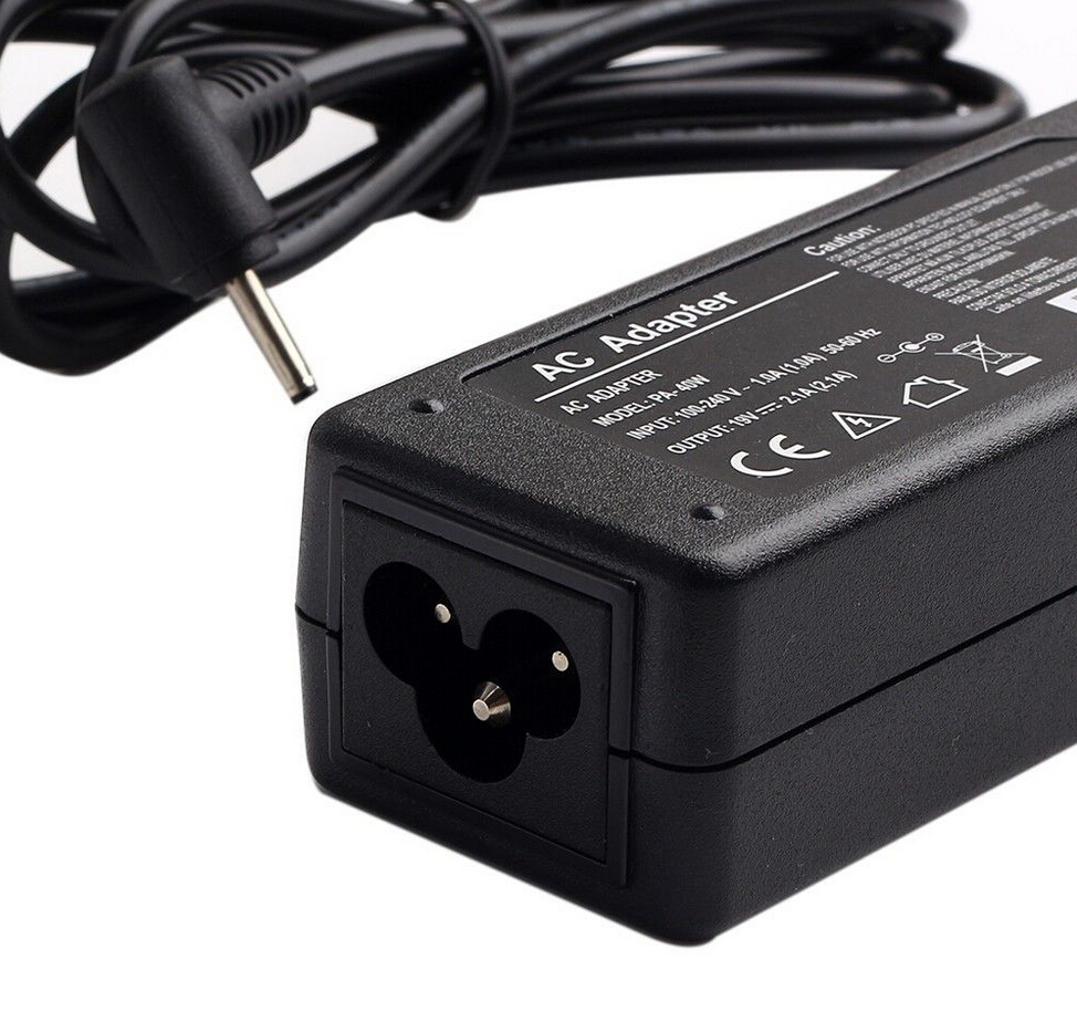 19V 2.1A 40W AC Adapter Laptop Charger Power Supply For Asus EeePC 1001HA/P/PX,1005,1008