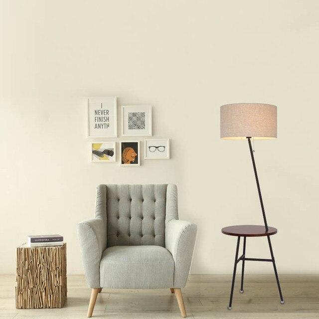 Semplice lampada da terra soggiorno divano lampada da tavolo lampada ...
