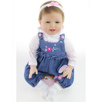 Real Reborn Babies Silicone Reborn Baby Dolls 20 Inch/50 cm,Vivid Baby Reborn Doll Real Looking Toy for Children Free Shipping