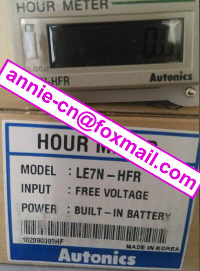ФОТО New and original  LE7N-HFR  AUTONICS   HOUR METER