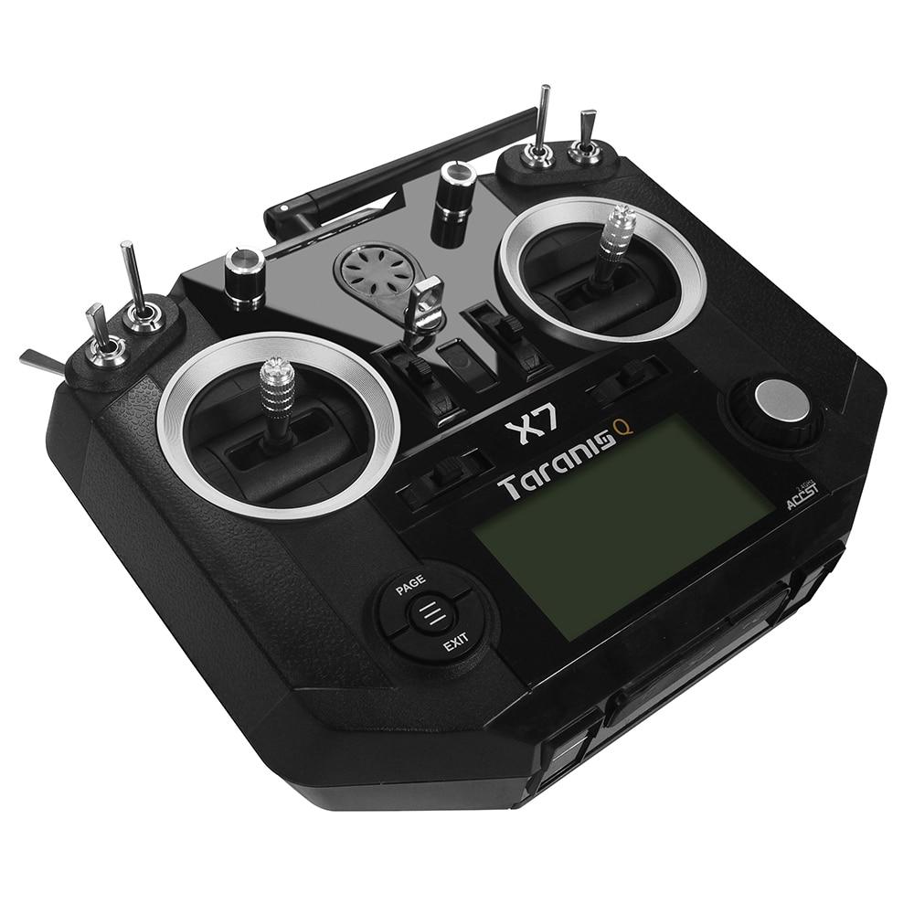 FrSky ACCST Таранис Q X7 2,4 ГГц 16CH режим 2 передатчика черный, белый цвет с выберите приемник для RC Multicopter