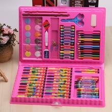 86 ピース/セット子供教育玩具塗装ブラシセット描画落書きおもちゃ水彩ペンクリエイティブ塗装用品アートセット