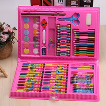 86Pcs/Set Kids Educational Toys Painting Brushes Set Drawing Graffiti Toys Watercolor Pens Creative Painting Supplies Art Sets