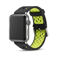 Fashion New Sport Silicone Breathable Watchband 1 1 For Apple Watch Sport Band 38mm 42mm For