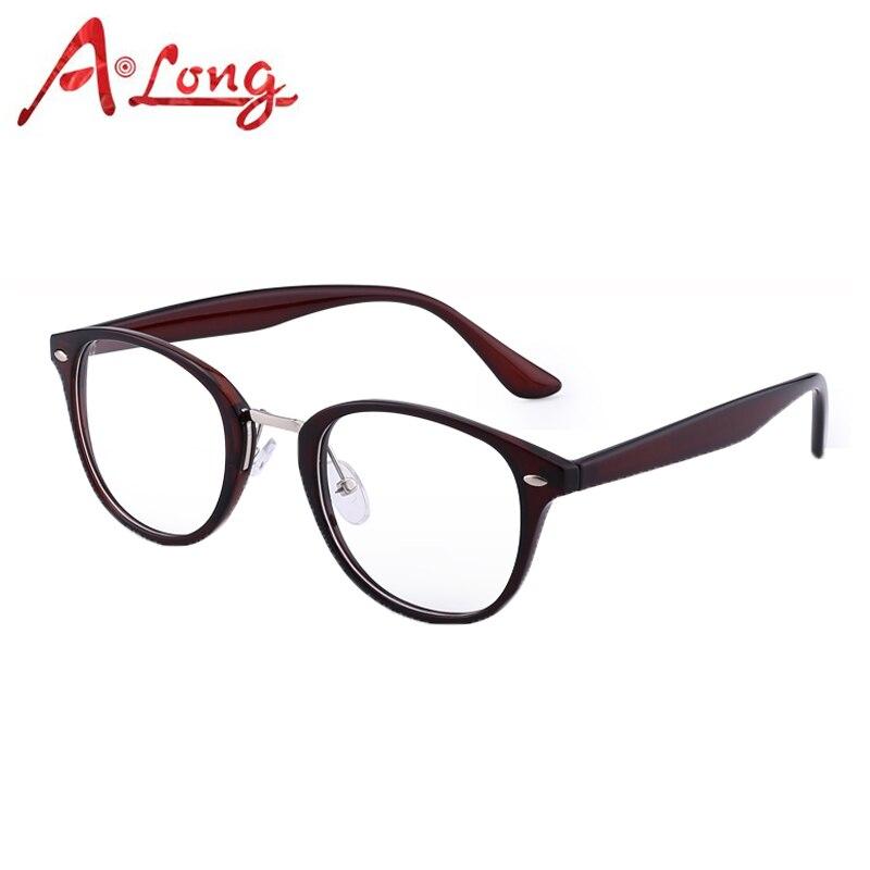1d51db5584a0 A Long Eye Glasses Frames for Women Fashion Optical Round Eyeglasses Men  Eyewear Accessories Clear Vintage Glass Frames M68020.