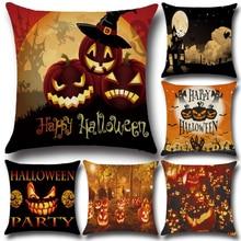 Liviorap Halloween Cushion Cover Party Decorations Pumpkin Home Decor Pillow Case