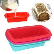 Rectangular Silicone Cake Mold Toast Candy Baking Tool Plate Suitable For Home DIY Supplies