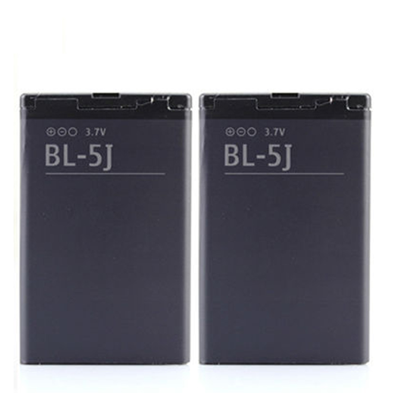 2 X 1320mah Replacement Phone BL-5J Battery For Nokia 5800 Xpress Music N900 5230 Nuron  ...
