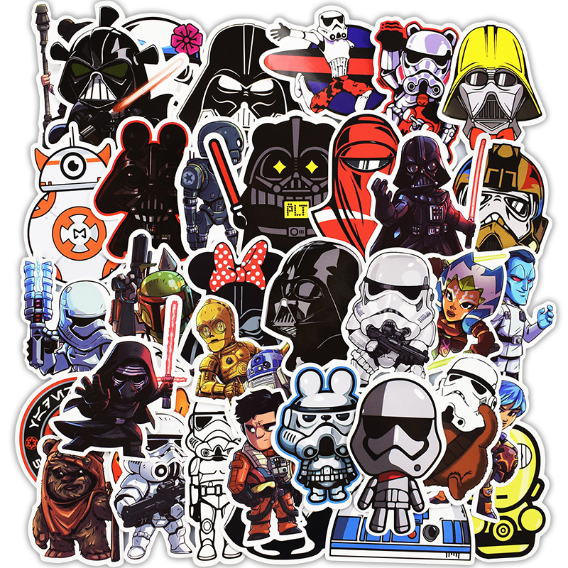 NEW 100 Pcs Anime Stickers for Laptop Luggage Bike Motorcycle Car Styling Doodle Cool Home Decor