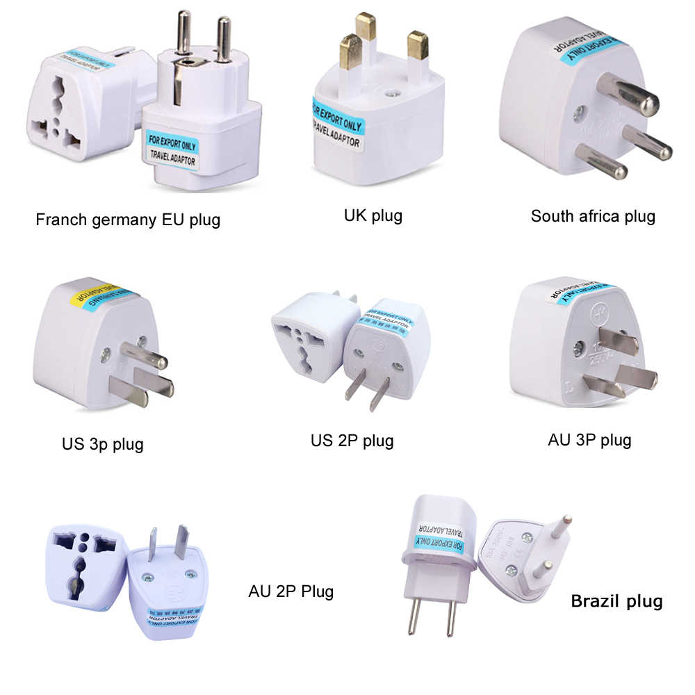 Universele Kr Amerikaanse Europese Au Eu Ons Uk Power Plug Adapter Vs Israël Brazilië Travel Adapter Plug Converter Japan korea