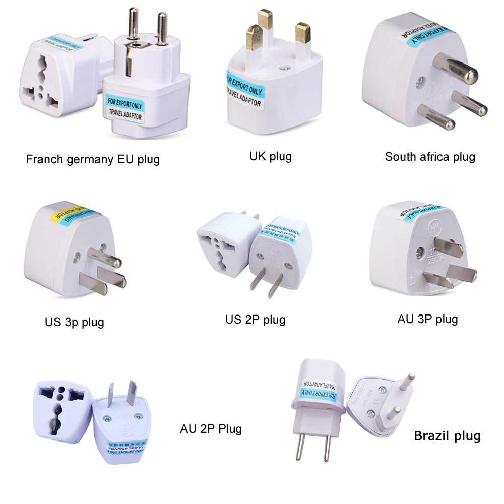 Universal US EU AU UK to France Germany Spain Europe Power Plug Travel Adap;UK