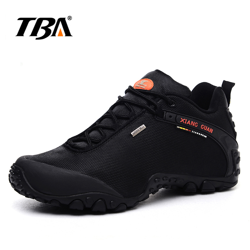 2017 TBA Outdoor Men & Women Hiking Shoes Waterproof Climbing Mountaineer Sneaker Trekking Trainer Sport hiking shoes 2017 tba man hiking shoes outdoor sneaker climbing high leather mountain sport trekking tourism boots botas waterproof shoes