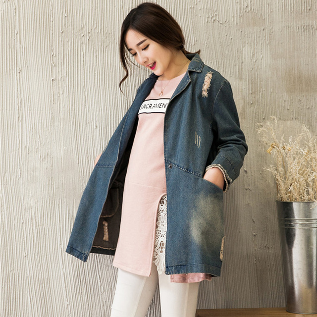 new jeans Maternity Jackets Fashion  outerwear   women coats