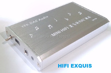 YEK HIFI EXQUIS DAC PCM2706 decodificador TDA1305 Notebook PC tarjeta de sonido USB amplificador de auriculares amp