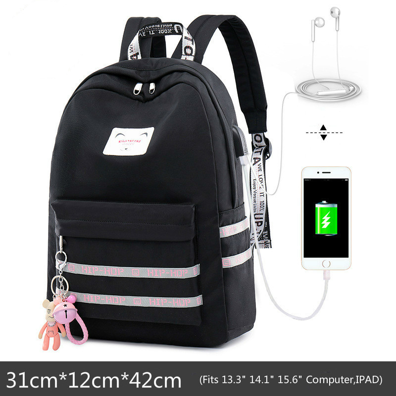 Campus Trend Girls Backpacks For Children Middle School Bag Kids Bag Girl School Bag Backpack Mochila Infantil Escolar Schoolbag