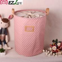 hot deal buy waterproof laundry hamper bag colorful clothes storage baskets home clothes barrel kids toy storage laundry basket zh01264