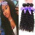 Indian Virgin Hair Deep Wave 3 Bundles 7A Unprocessed Indian Deep Wave 100% Human Hair Weave Bundles Indian Virgin Hair deepwave