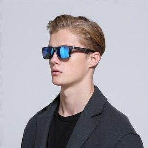 Image 2 - YSO Aluminium Meg Sunglasses Men Luxury Brand Polarized UV400 Protection Glasses For Driving Blue Lens Sunglasses For Men 6560