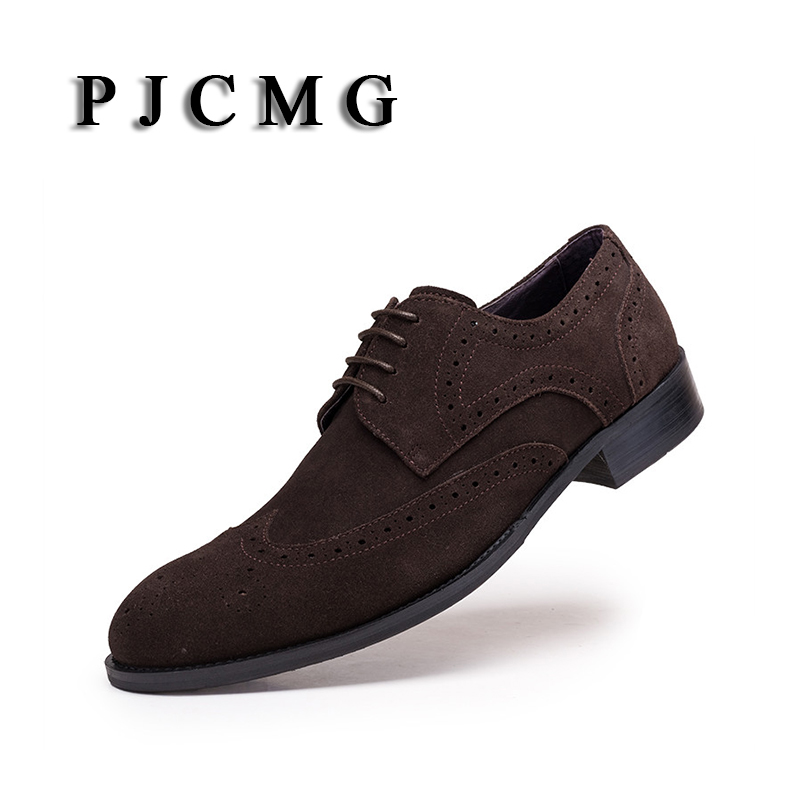 Pour Véritable brown Hommes Masculinos Pjcmg Oxford Zapatos Chaussures Nubuck Mocassins Social Appartements Cuir Sapatos Black Mode Hombre En g0qxFw