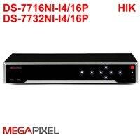 Мегапиксельная CCTV IP видео камеры видеонаблюдения HD сетевой видеорегистратор 16/32CH NVR POE P2P 4 К для Hikvision 12MP IPC