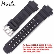 Silicone Man Watchband GW-3500B