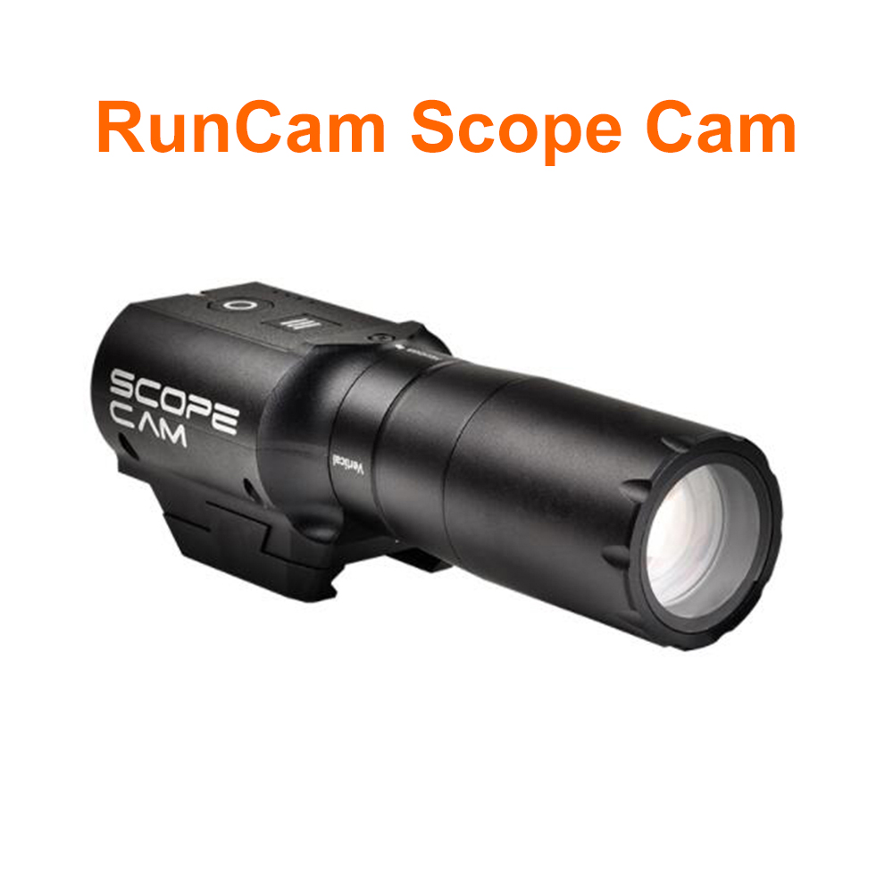 RunCam portée Cam MOV DC 5 V-15 V 4MP HD caméra 35mm lentille Micro USB MAX Support 64G SD pour RC quadrirotor RC pistolet jeu