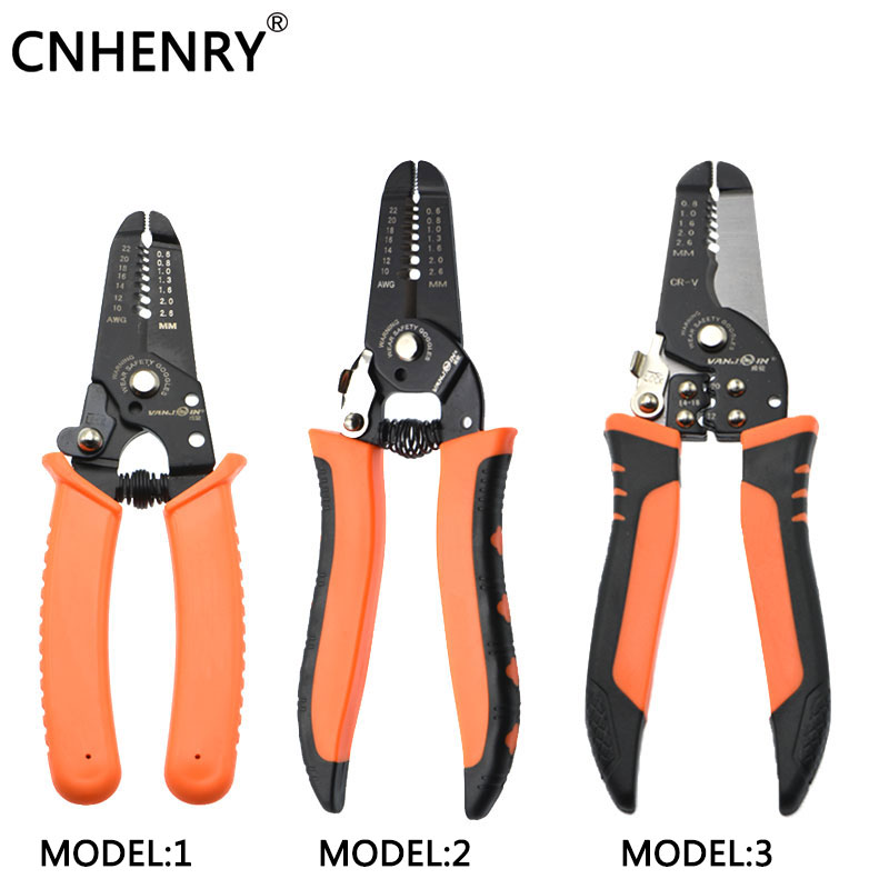 Multifunctional Wire Cable Stripper Crimping Plier Stripping Cutter Tools Terminal Crimping Tools Electrical Wire Cable Stripper