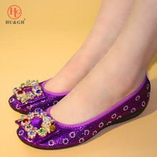 2019 Italian Designer Women Shoes Foldable Ballets Flats Bow-knot Omelet Gold Loafers Portable Travel Fold up Lady Flat