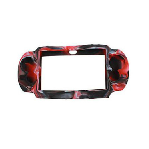 Red Protective Silicone Soft Case Cover Skin Bag Pouch Sleeve for Sony PS Vita PSV