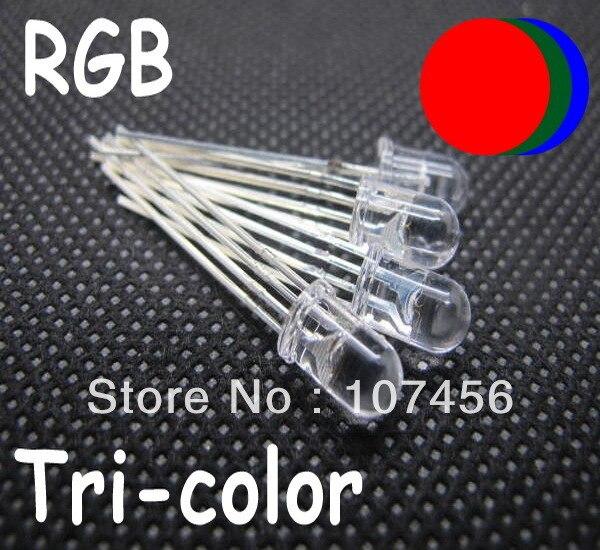 20 x tri colour led red//green//blue 5mm