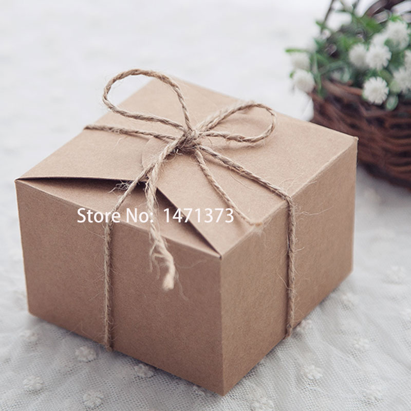 large wedding cake boxes 50pcs rustic wedding favors boxes packaging snak 5400